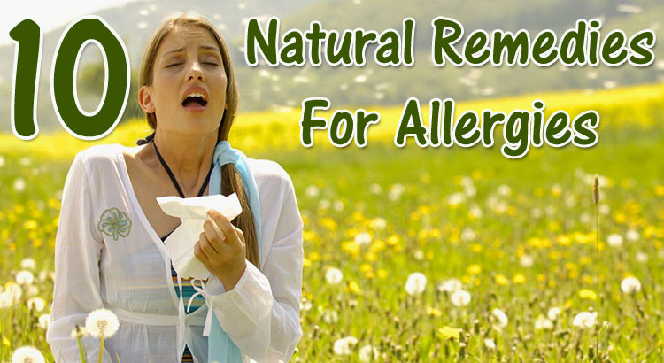 10 Natural Remedies for Spring Allergies