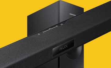 Samsung HW TV Soundbar / Woofer Rocks the Mid-Price Range