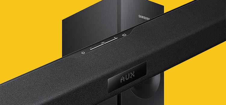 Samsung HW TV Soundbar / Woofer Rocks the Mid-Price Range