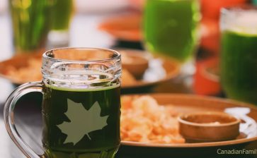 Traditional Irish Canadian Food for St. Patrick's Day