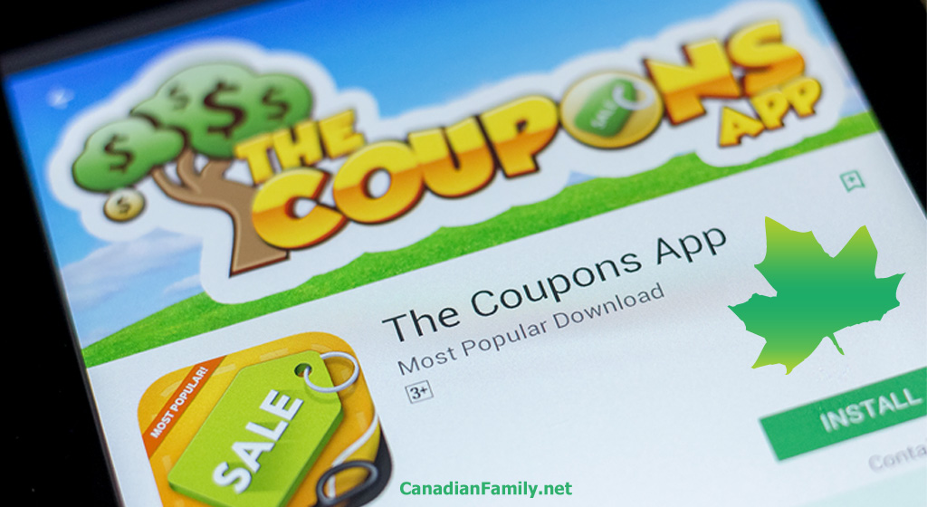 The Very Best Free Coupon Apps For Canadians Canadian Family Net
