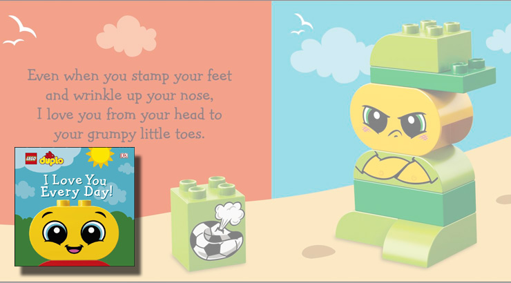 Love Your Every Day Duplo Book