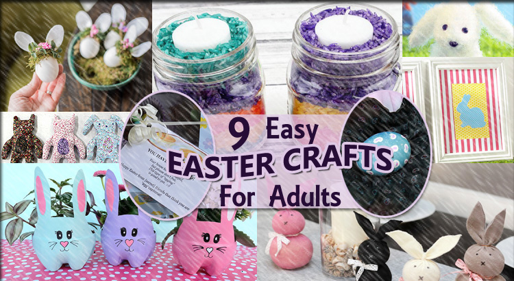 9 Easy Easter Crafts for Adults