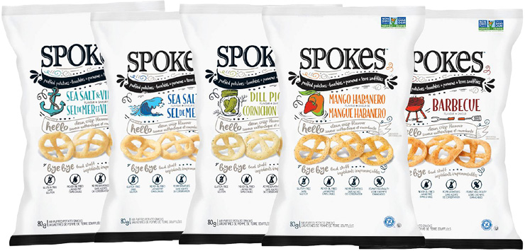 Spokes Healthy Chips