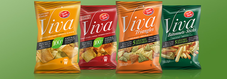 Viva Canadian Vegetable Snacks