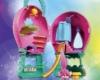 DreamWorks Trolls World Tour Balloon Playset with Poppy Doll
