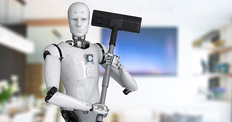 Today's Tech Can Cut Household Chores in Half